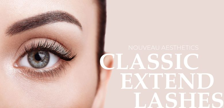extend lashes model